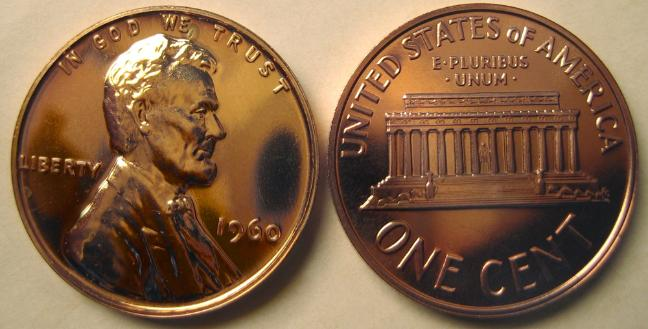 Proof Lincoln Cents
