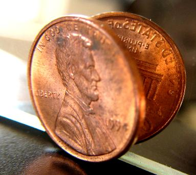 Lincoln Cents with Rotated Dies